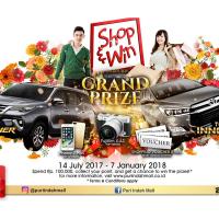Shop & Win Grand Prizes