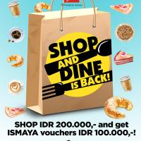 Shop & Dine is Back