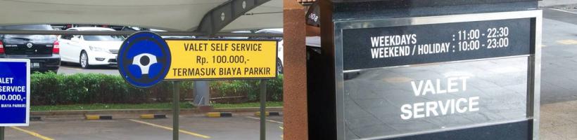 Valet Service  Puri Indah Mall
