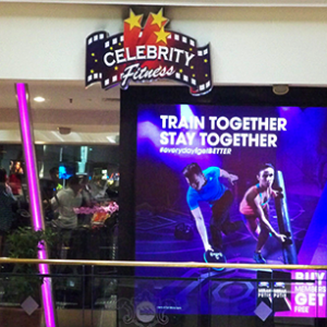Celebrity Fitness at Puri Indah Mall