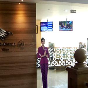 Garuda Indonesia at Puri Indah Mall